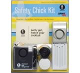 Sabre SCK02 Safety Chick Date Rape Coasters, Door & Personal Alarm