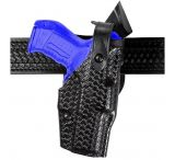 Safariland 6360 ALS Level III w/ Ride UBL Holster - Basket Weave Black, Left Hand 6360-483-82