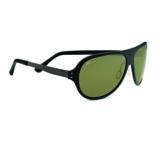 Serengeti Alice Single Vision Prescription Sunglasses, Crystal Dark Brown Frame-7818SV