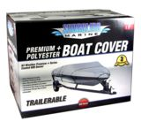 Shoreline Marine Water Sports Gear Premium Boat Cover