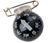 Silva Compass w/Brass Safety Pin 2801222