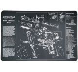 Slip 2000 Blueprint Gun Cleaning Mat 11x17 Inches For Smith & Wesson M&P MAT-MP