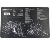 Slip 2000 Blueprint Gun Cleaning Mat 11x17 Inches For Springfield XD MAT-XD