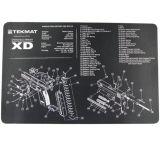 Slip 2000 Blueprint Gun Cleaning Mat 11x17 Inches For Springfield XD MAT-XD