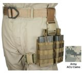 Specter Gear 20 rd. NATO Rapid Reload Tactical Thigh Rig - 2 Mag, 7.62 x 51mm