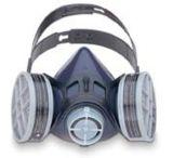 Honeywell 1/2 Mask Premier S-SER Rubb Md 312510