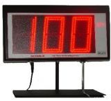 "Sports Radar 3 Digit Led 4"" Display Red DL431-R"