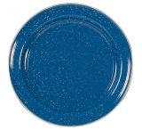 Stansport Enamel Dinner Plate Stainless Steel Edge