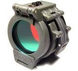 "SureFire FM45 Red Filter for flashlights & weaponlights with 1.36"" diameter bezel"