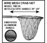 Tackle Factory Aluminum Wire Crab Net W/Telescpng