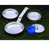 Texsport Five-Piece Aluminum Mess Kit