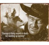 Tin Signs John Wayne Courage Tin Sign