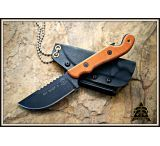 Tops Knives Pit Stop 3 Fixed Blade Knife,3in