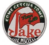 "Turtleman Jake ""The Muscle"" Round Patch"
