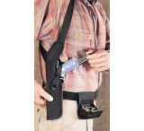 Uncle Mike's Gun Holster for 5-6.5in Double & 4-6in Single Action Revolvers w/ Scope