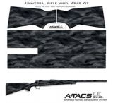 US Night Vision A-TACS 20x30in Pre-Cut Universal Rifle Skin Vinyl Wrap