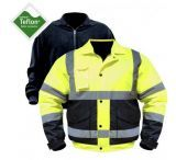 Utility ProWear High Visibility Bomber Jacket w/zip out liner Class 3