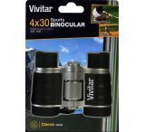 Vivitar Classic Series 4x30 Compact Binocular with Case and Strap