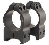 Warne 1in Permanently Attached Medium Scope Mount Rings
