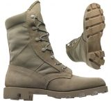 Wellco T130 Military Boots - Tan Hot Weather Army Combat Boot