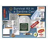 Whistle Creek Sardine Can Survival Kit