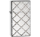 Zippo Argyle Slim High Polish Lighter