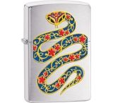 Zippo Year of the Snake Brushed Lighter