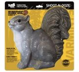 Zombie Industries Shoot-N-Ooze Rimfire 3-D Squirrel Target Case Of Six 13-004-6