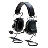 3M Peltor ComTac III ACH PRR Dual Comm Electronic Headsets with Flexi Boom