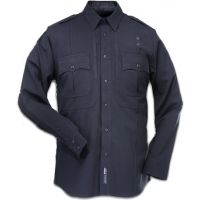 5.11 Tactical B-Class Shirt, Long Sleeve, Poly/Rayon, Inverted Pocket 32160