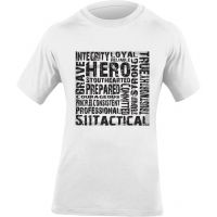 5.11 Tactical Hero T-Shirt, White 40088AE