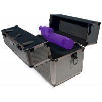ADG Sports Two Pistol Range Box w/Spotting Scope Mount 31120 GREY