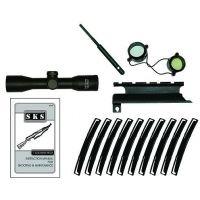 Advanced Technology AK Package Scope Mount Camo/Black MAK8000