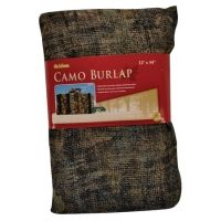 Allen Burlap Fabric 54 Inches X 12 Feet Oak Brush Camouflage 2566