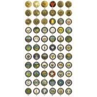 ASP Leverage Caps w/ Break Away Cap, G2 Cuff Keys - Law & Military Logos