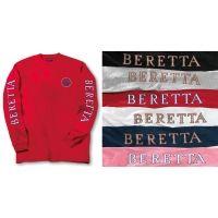Beretta T-shirt Double Logo Long Sleeve