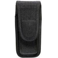 Bianchi 7303 AccuMold Single Mag/Knife Pouch - Black, Hidden 18199