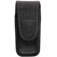 Bianchi 7303 AccuMold Single Mag/Knife Pouch - Black, Hidden 18201