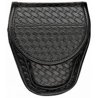 Bianchi 7900 Covered Cuff Case - Plain Black, Hidden 23016
