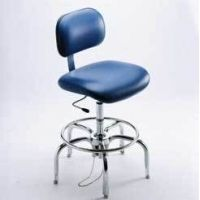Bio Fit Cleanroom/ESD Chairs, 4P Series, BioFit 4P62C10 Class 10 Cleanroom Chairs