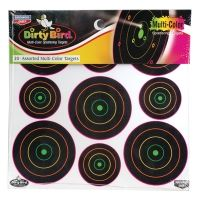 Birchwood Casey Dirty Bird Multi-Color 2in. and 3in. Targets
