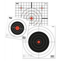Birchwood Casey Plain Paper Target Eight Inch Round Pack of 26 37826