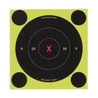 Birchwood Casey 6-Inch Round X-Bullseye Shoot-N-C Target