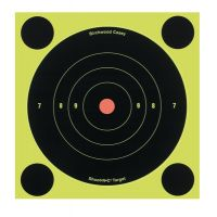 Birchwood Casey Shoot-N-C Targets 6in. Round Bullseye