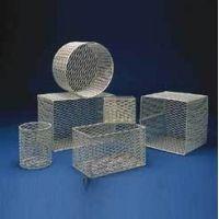 Black Machine Baskets, Epoxy-Coated Aluminum E101/A Rectangular