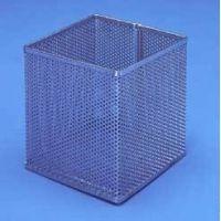 Black Machine Baskets, Perforated Aluminum PERF301/E Rectangular