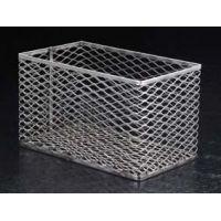 Black Machine Test Tube Baskets, Stainless Steel, Black Machine SS305/C Square
