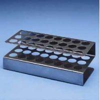 Black Machine Test Tube Racks, Aluminum A100/B