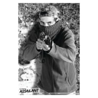 Blackheart Ultimate Assailant Targets Rifle Hold-Up Measures 23x35 Inches 25 Per Pack BH-013-016-25