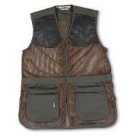 Bob Allen 290M Shooting Vest - Full Mesh Dual Leather Pads